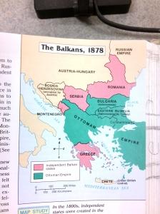 Balkans Map