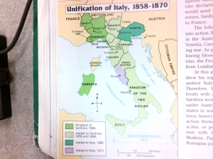 Italian Unification Map 2