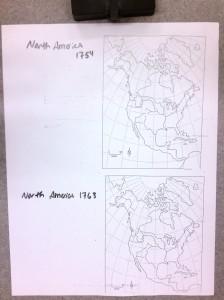 North America 1754 +1763
