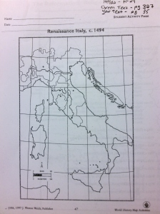 Renaissane Italy
