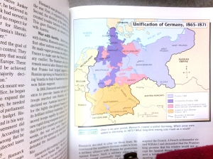 Unification of Gemany Map 2