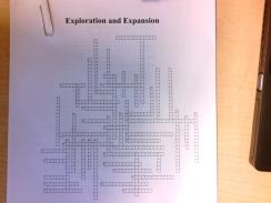 Exploration Crossword