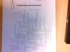 Exploration Crossword